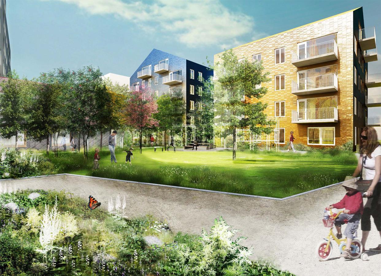 Brofastet_Norra_Djurgardsstaden_Stockholm_Bostader_Perspektiv_Gard_Varg_Arkitekter