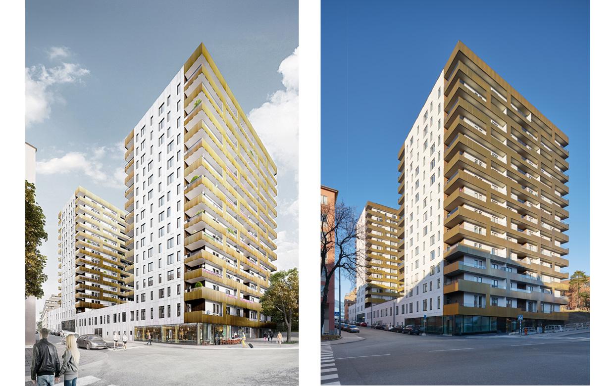 Gladan_Stockholm_Kungsholmen_Bostäder_Visualisering_Foto_Åke_Eson_Varg_Arkitekter