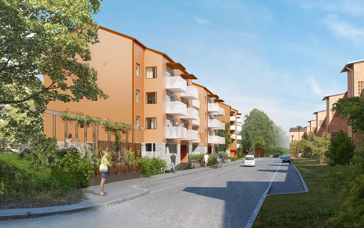 Gubbängen_Stockholm_Bostader_Gubbangsvagen_Gatuvy_Varg_Arkitekter_V2