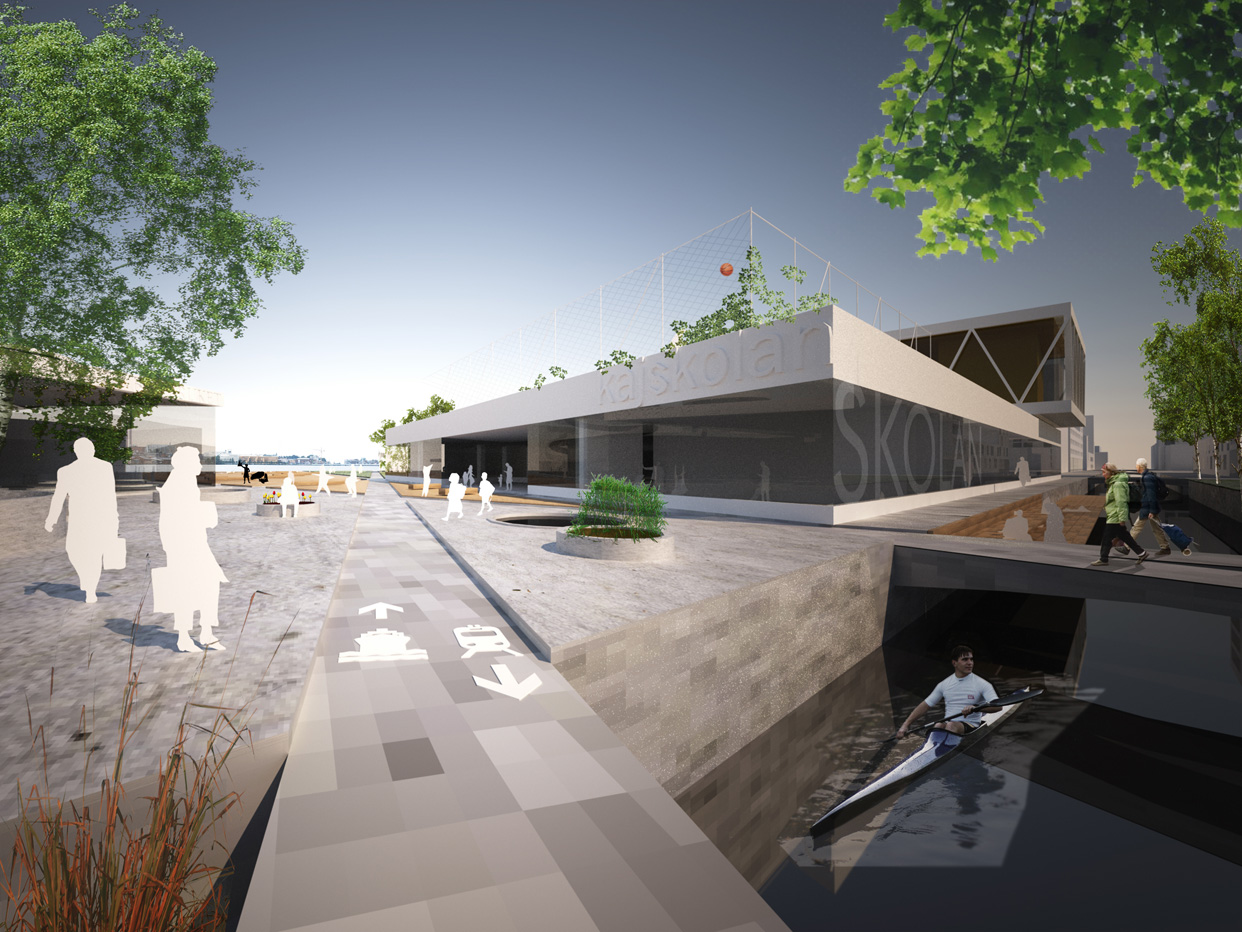 Jonkoping_Munksjon_Skeppsbrokajen_Bostader_Stadsbyggnad_Stadsplanering_Tavling_Perspektiv_Varg_Arkitekter