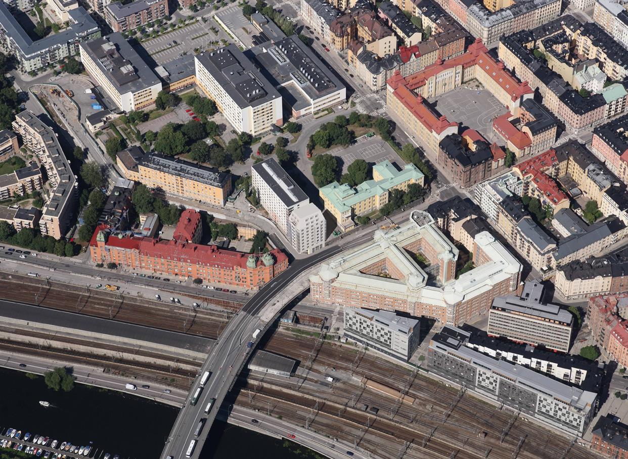 Tegners_Torn_Tegnergatan_Vasastan_Flygfoto_Montage_Varg_Arkitekter