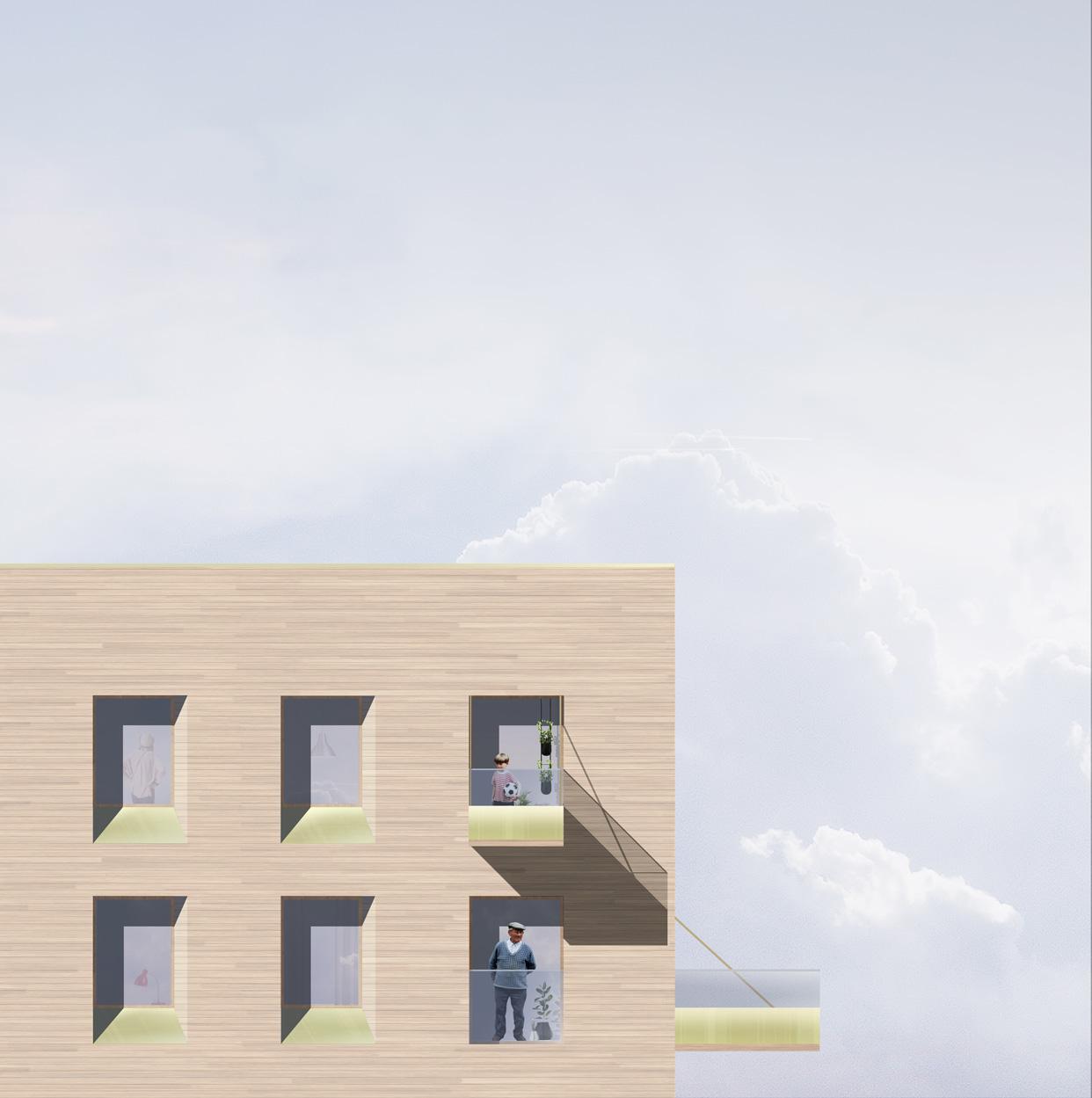 Plusenergihus_Norra_Djurgårdsstaden_Stockholm_Bostäder_Fasad_Rätblock_Varg_Arkitekter