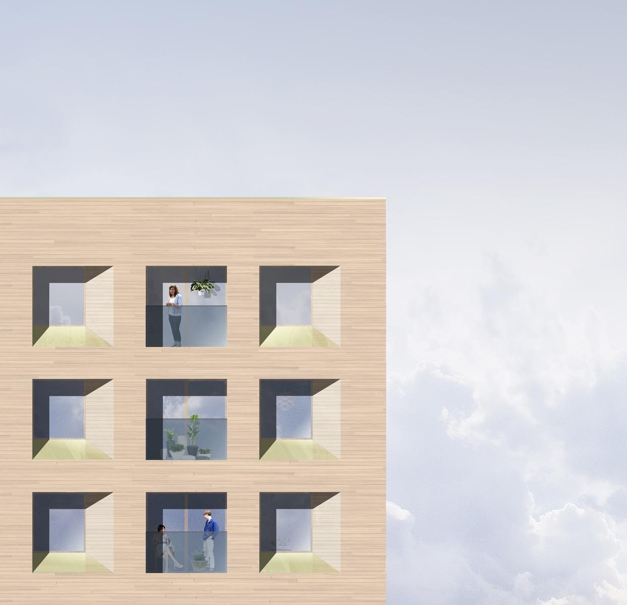 Plusenergihus_Norra_Djurgårdsstaden_Stockholm_Bostäder_Fasad_Varg_Arkitekter