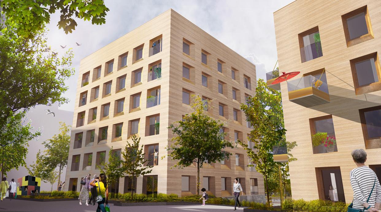 Plusenergihus_Norra_Djurgårdsstaden_Stockholm_Bostäder_Perspektiv2_Varg_Arkitekter