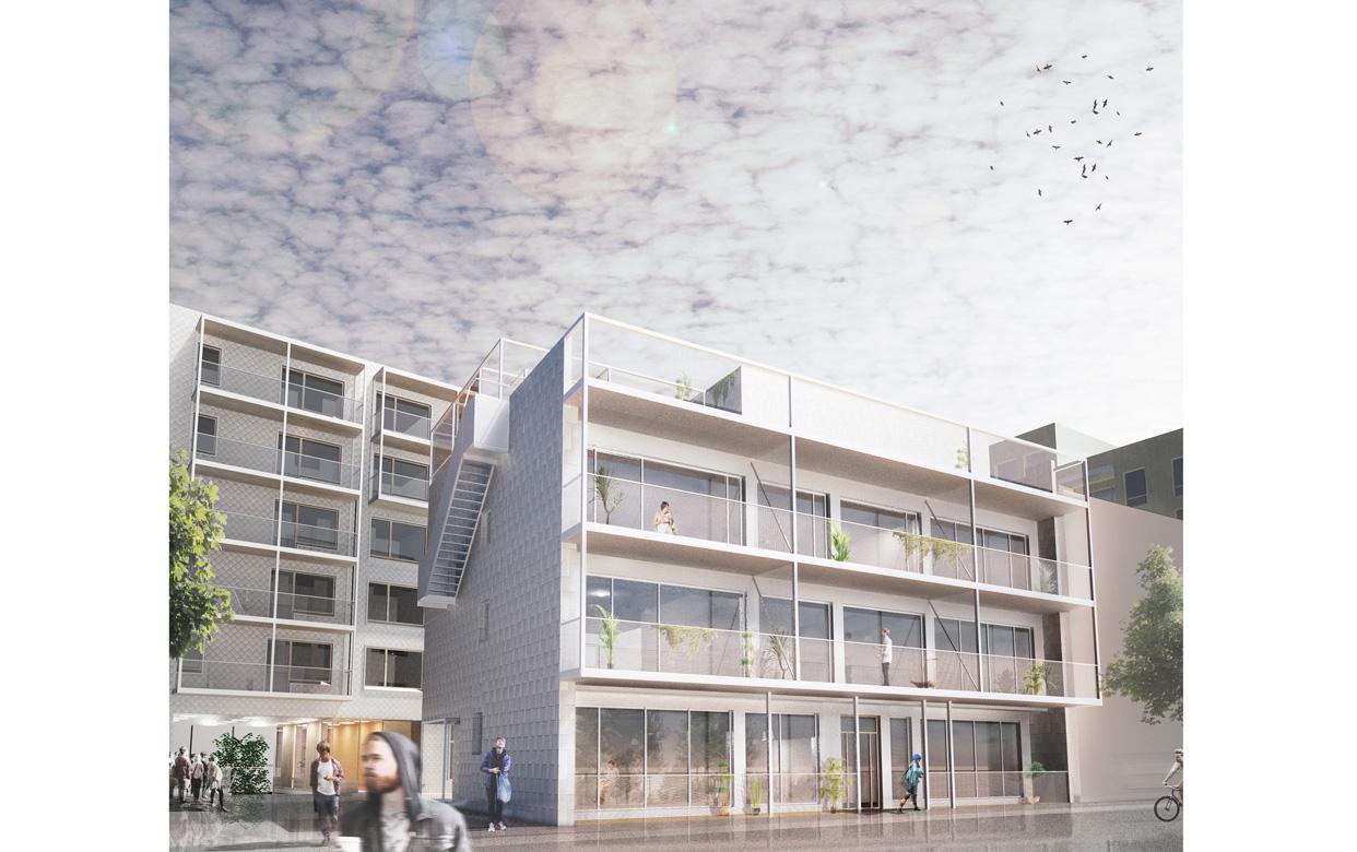 Linköping_Västra_Valla_Perspektiv_Hus7_Varg_Arkitekter