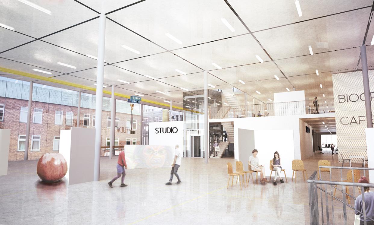 Campus_Näckrosen_Göteborg_Inåt_Utåt_Vy_Interiör_KFN_Varg_Arkitekter