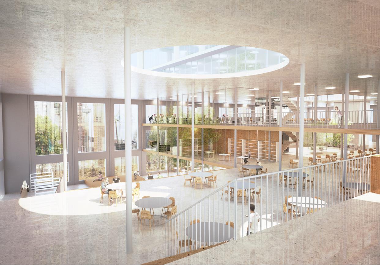 Campus_Näckrosen_Göteborg_Inåt_Utåt_Vy_Interiör_UB_Varg_Arkitekter