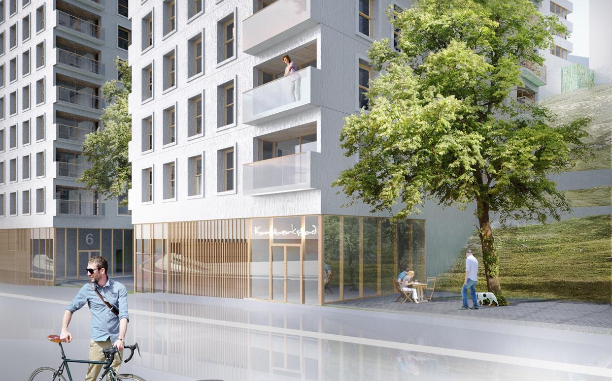 stadshagen_bostäder_perspektiv_gatuvy_kungsholmsstrand_Varg_Arkitekter