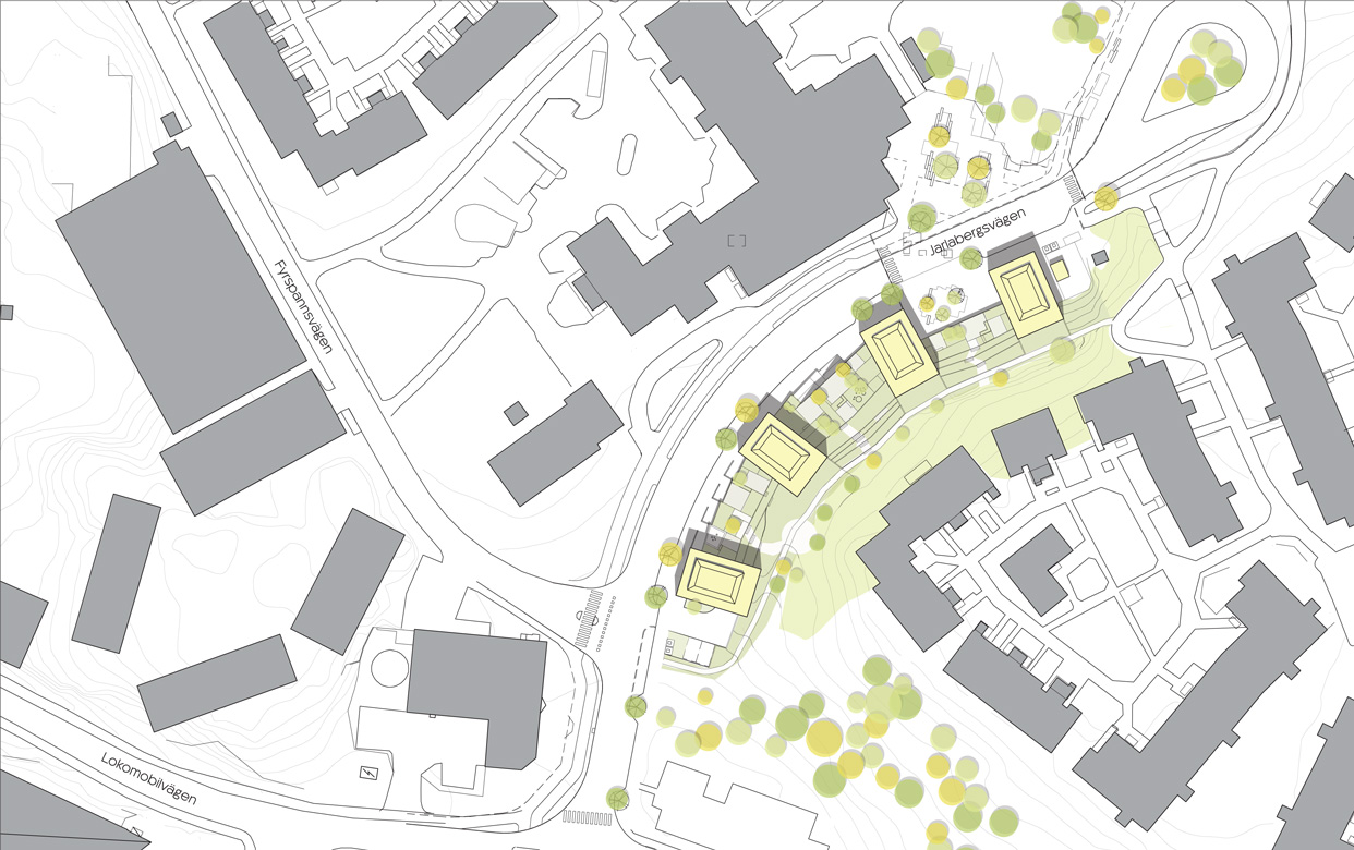 varg-arkitekter_nacka_jarlaberg_jarlabergsvagen_bostader_situationsplan_201610