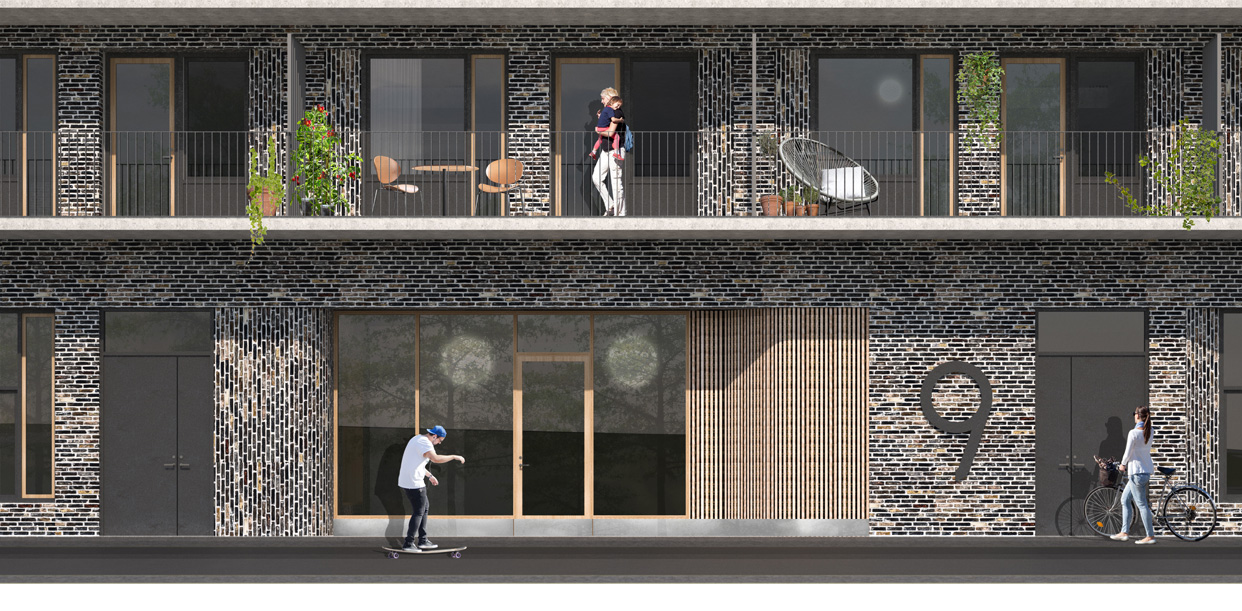 häggvik_städet_bostäder_entre_Varg_Arkitekter