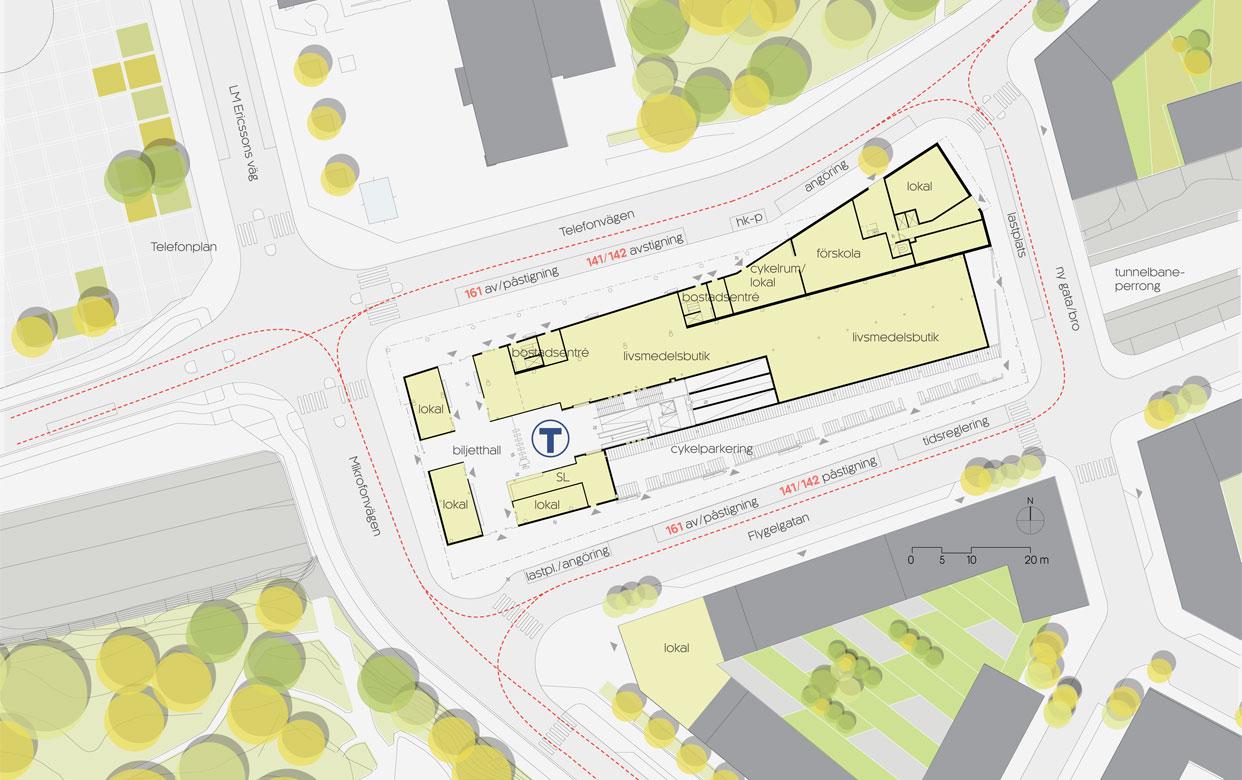 Tvalflingan_Telefonplan_Stockholm_Tunnelbana_Overdackning_Kvarter_Situationsplan_Varg_Arkitekter