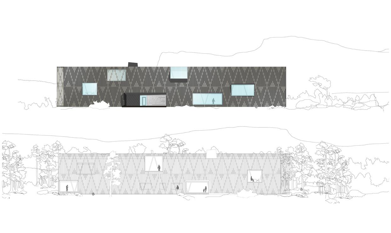 Rakkas_naturum_Laponia_fasad_varg_arkitekter