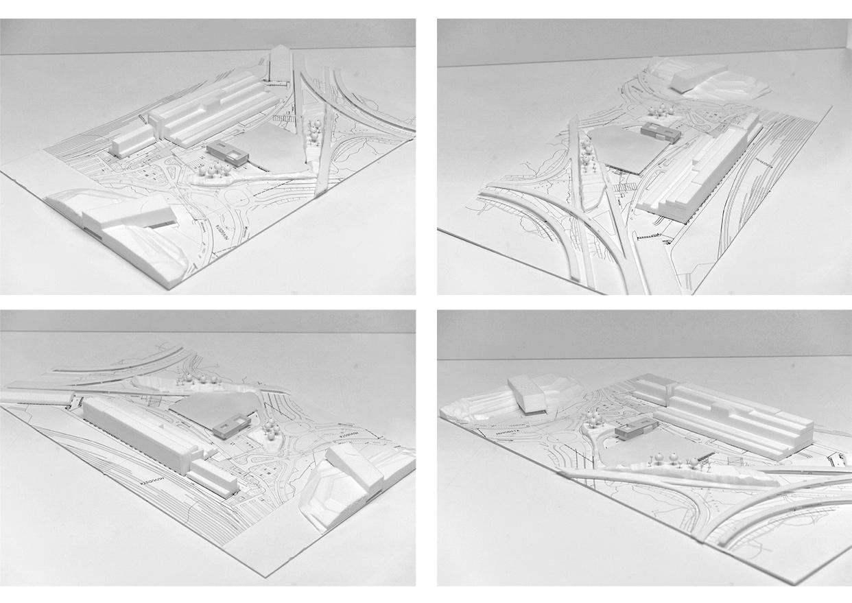 Tomteboda_Tvatthall_Administrationsbyggnad_Solna_Modellfotografier_Varg_Arkitekter