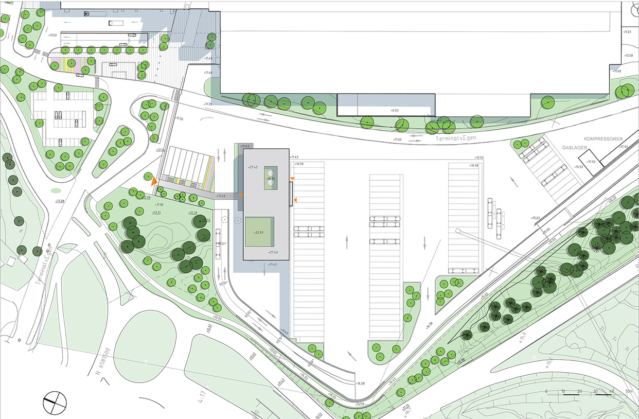 Tomteboda_Tvatthall_Administrationsbyggnad_Solna_Situationsplan_Varg_Arkitekter