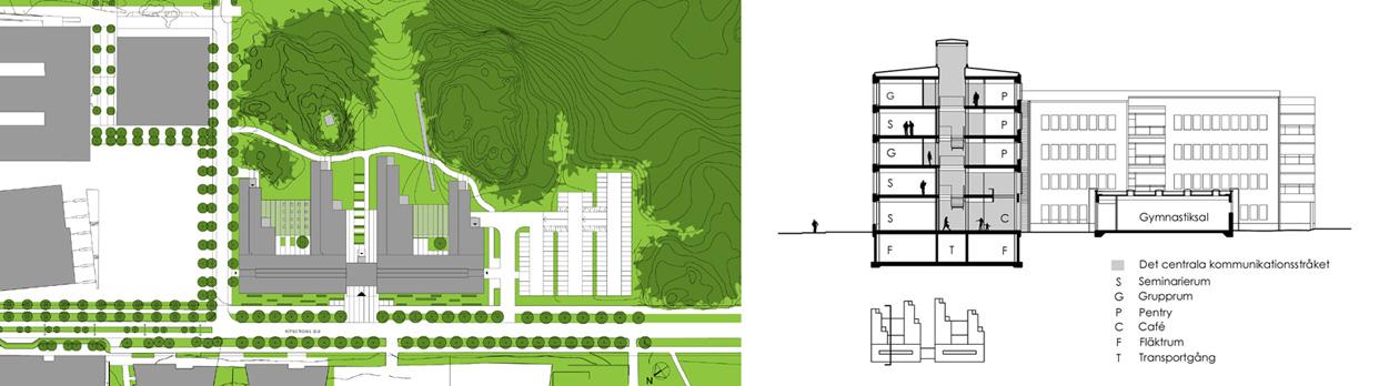 Zanderska_huset_nybyggnation_huddinge_stockholm_sektion_sitplan_varg_arkitekter