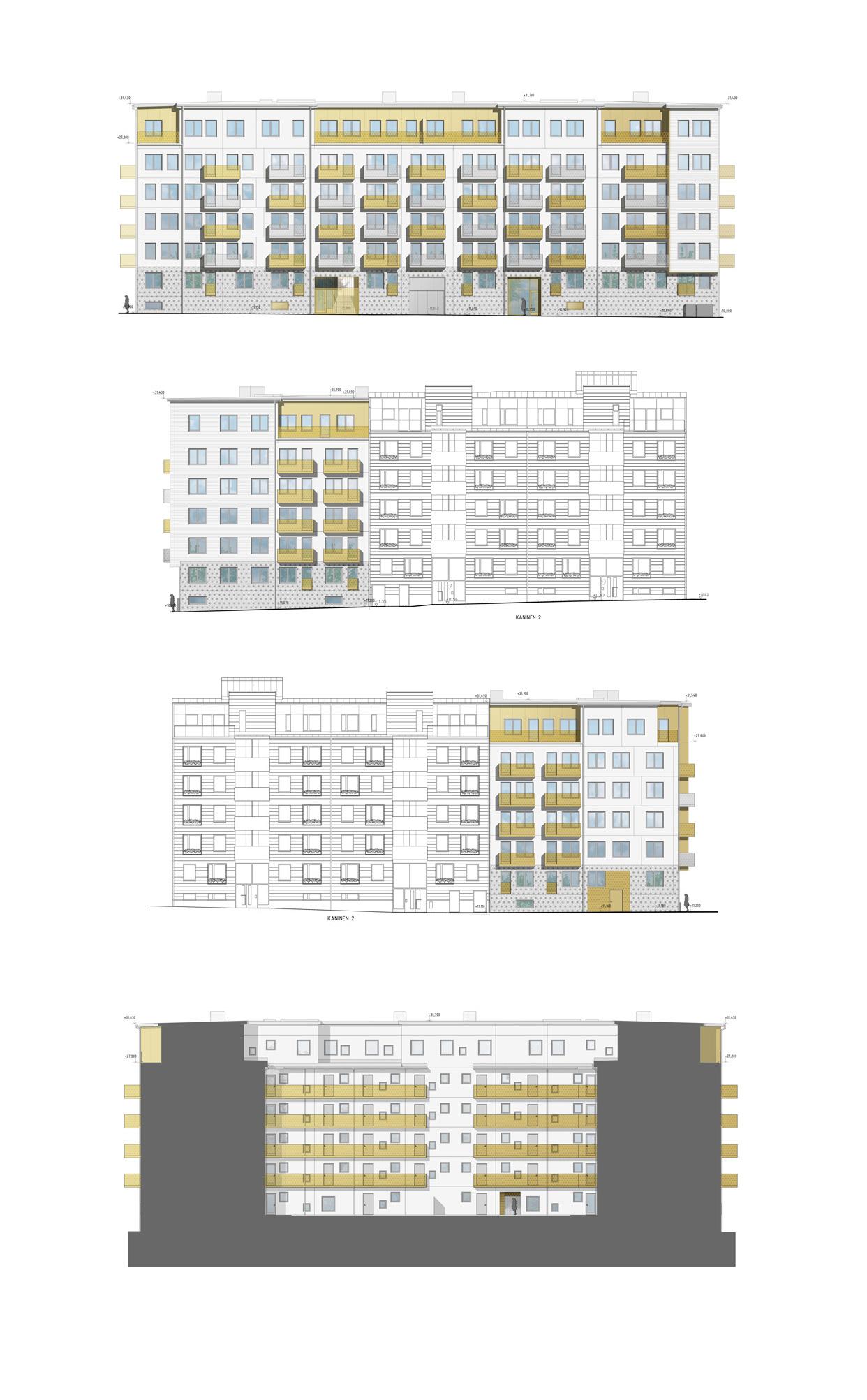 Brf_Origo_Täby_Centrum_Fasader_Varg_Arkitekter